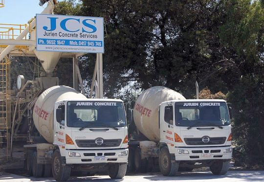 Ready Mix Concrete Trucks at Jurien Concrete
